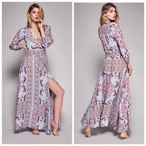 Dresses & Skirts - Gypsy Boho Pandora Pattern Gown